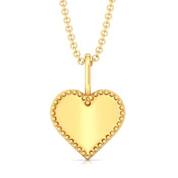 Picture Pretty Gold Pendants