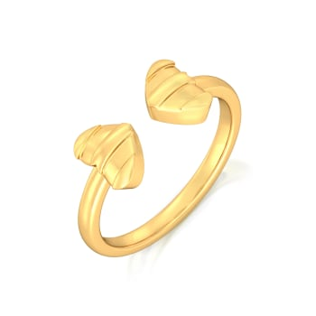 (Un)tainted Love Gold Rings