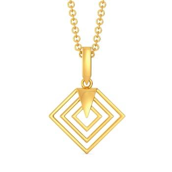 Parisian Power Gold Pendants