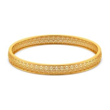 A Lot Like Lace Gold Bangles