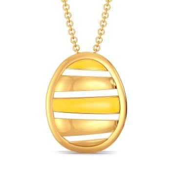 Yellow Tangelo Gold Pendants