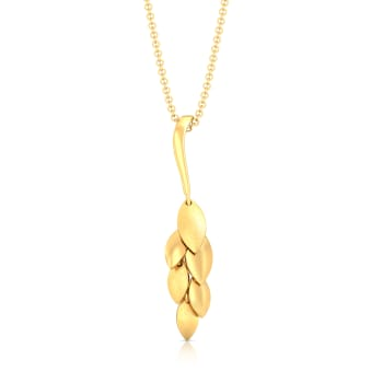 Floral Chimes Gold Pendants