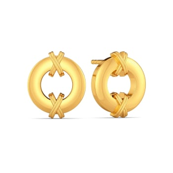 The Wild Stride Gold Earrings