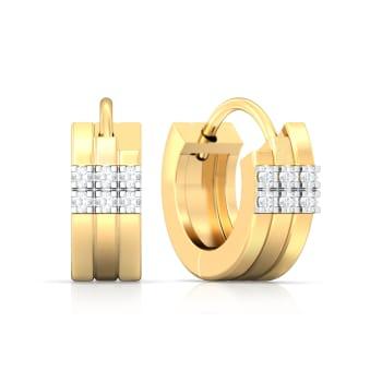 Barlesque Diamond Earrings