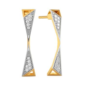 Power Play Diamond Earrings