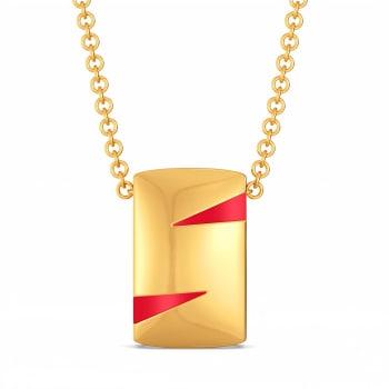 Red Mascot Gold Pendants