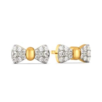 Bow Beauts Diamond Earrings