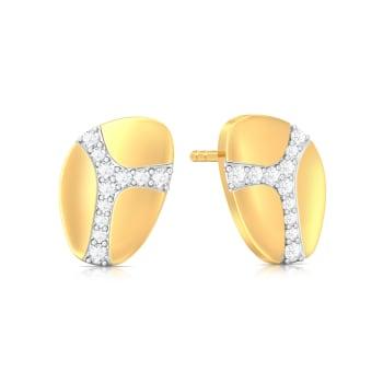 Wild Giraffe Diamond Earrings