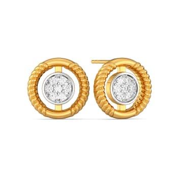 Roman Radar Diamond Earrings