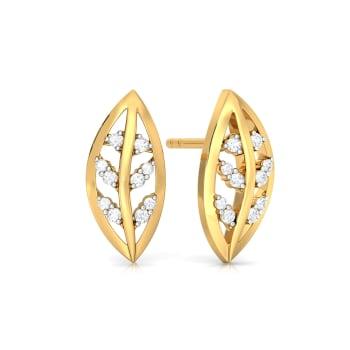 Leaf in Chief Diamond Earrings