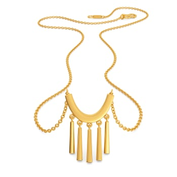 OTT Toss Gold Necklaces