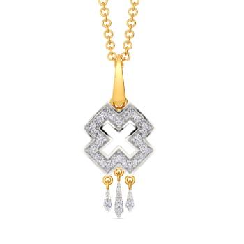 Pattern Patent Diamond Pendants