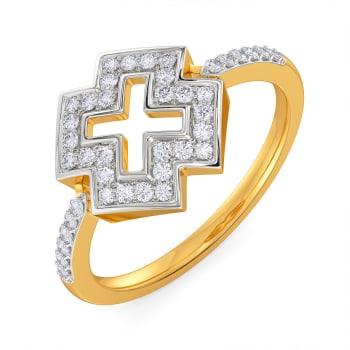 Pattern Play Diamond Rings