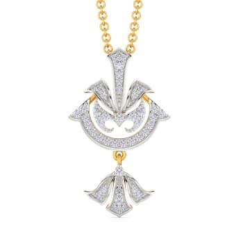 Deco Motives Diamond Pendants