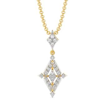 Penchant For Patterns Diamond Pendants