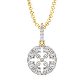 Deco Decadence Diamond Pendants