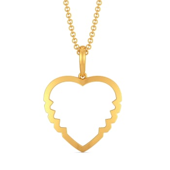 Vision O Love Gold Pendants