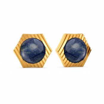 Denim Diaries Gemstone Earrings