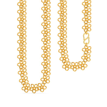 Star Loops Gold Chains