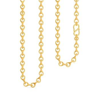 Hoops N Loops Gold Chains