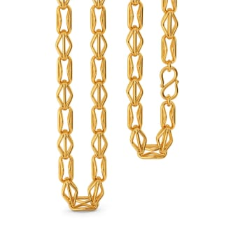 Rhomb Belong Gold Chains