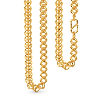 Club Cued Gold Chains