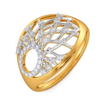Two to Loops Diamond Rings
