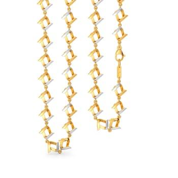 Vision Whites Gold Chains