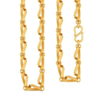Tropical Trio Gold Chains