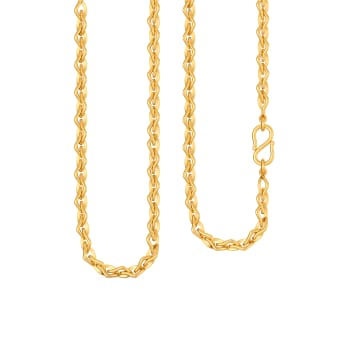 Chic Charades Gold Chains
