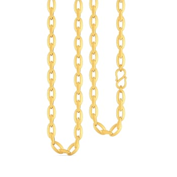 Oval N Otherwise Gold Chains