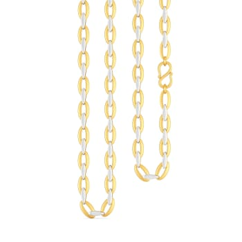 Oval Origins Gold Chains
