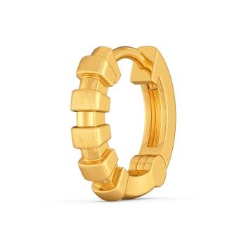 Linear League Gold Nose Pins