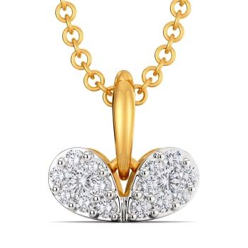 Dribble Dabble Diamond Pendants