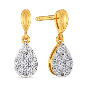 Dream Drops Diamond Earrings