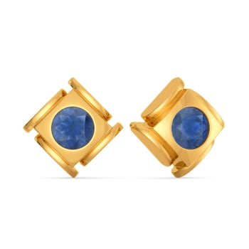 Blue Déjà Vu Gemstone Earrings