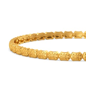 Feisty Constellation Gold Bangles