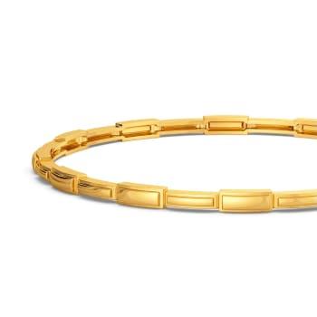 A Dash of Suave Gold Bangles