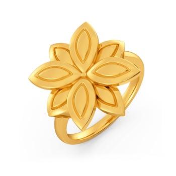 Chic O Shine Gold Rings