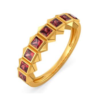 Red Said Gemstone Rings