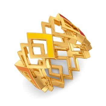 Block O Fever Gold Rings