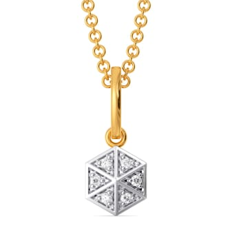 Go Gingham Diamond Pendants