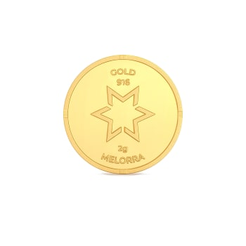 2 g 22 kt Gold Coin Gold Coins