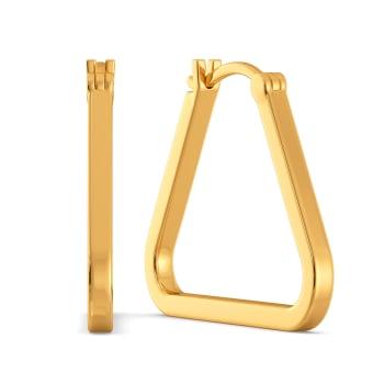 Above Love Gold Earrings
