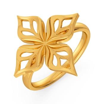 Braidy Dews Gold Rings