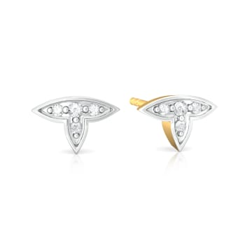 First Fleurs Diamond Earrings