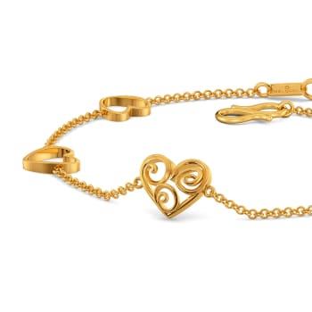Exotic Edge Gold Bracelets