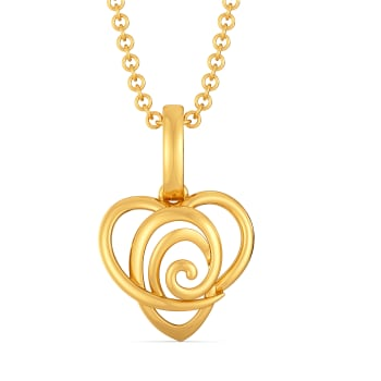 Lovelorn Gold Pendants