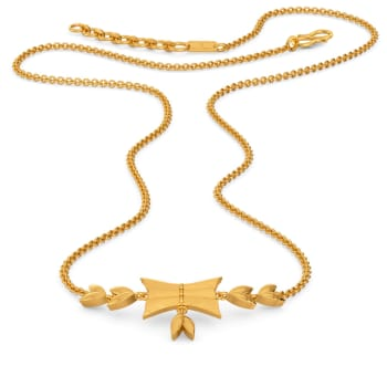 Ruff No Fuss Gold Necklaces