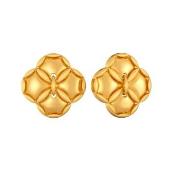 Lazy Lacy Gold Earrings